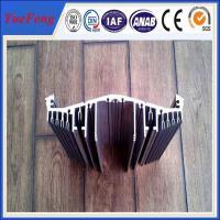China heat sink aluminium profile for industry, china aluminum heat sink for light housing for sale