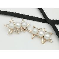 Wholesale Star Shaped Zinc Alloy Metal Shoe Buckles Corrosion Resistant Easy To Put On from china suppliers