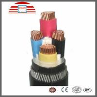 Buy cheap Waterproof PVC / XLPE Insulated Electrical Cables And Wires 4 Core Power Cable from wholesalers