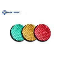 Wholesale High Efficiency Traffic Light LED Module , Traffic Signal LED Lights With 200mm Cobweb Lens from china suppliers