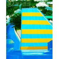 Wholesale Fiberglass Swing Water Slide , Water Park Rides Double People By Raft from china suppliers