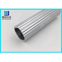 Wholesale Scroll Bars Aluminium Alloy Pipe Seamless Silvery Laciness Tubing OD 29mm AL-R from china suppliers