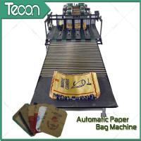 Buy cheap High Capacity Germany Type Valve Paper Bag Making Machine No Leaking Powder from Wholesalers