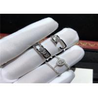 Wholesale luxury jewelry designers 18 Karat White Gold Messika Diamond Ring For Engagement Ceremony from china suppliers
