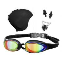 Quality Swimming goggles&Caps set for Adult for sale