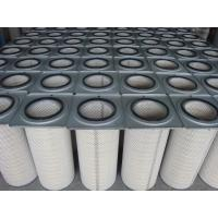 China Cement Industry Industrial Air Filter Cartridges / Pleated Filter Bags Dust Collectors on sale