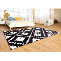 Wholesale Outdoor / Indoor Area Rugs With PVC Coated Dots Wear Resistance Sound Reduction from china suppliers