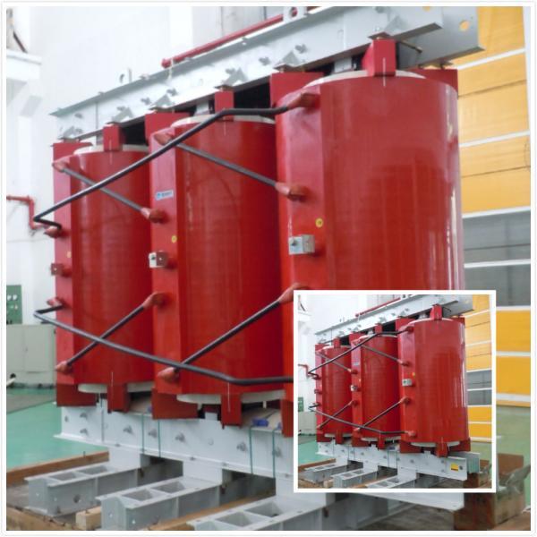 Quality 6.6 KV - 200 KVA Dry Type Transformer Inflaming Retarding Dry Type Power Transformer for sale