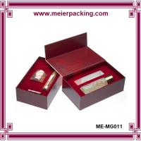 Wholesale Luxury paper packaging perfume box, cosmetic handmade magnetic gift box ME-MG011 from china suppliers
