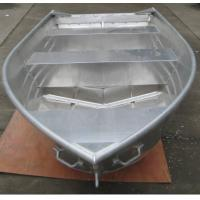 Wholesale 14ft pointed head and v bottom aluminum boat from china suppliers