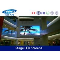 Wholesale 1R1G1B HD P3mm Stage LED Screens TV Panel For Entertainment , LED Stage Display 192 × 96MM from china suppliers