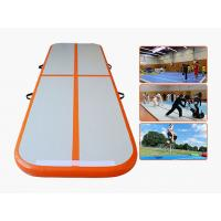 Wholesale 3M 5M 6M 8M 10M 12M Air Track Gymnastics Mat / Inflatable Gym Air Tumble Track from china suppliers