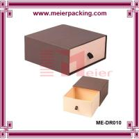 Wholesale luxury drawer bangle jewelry paper box/slider paper jewelry ring box ME-DR010 from china suppliers