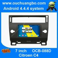 Wholesale Ouchuangbo S160 car DVD GPS radio S160 Citroen C4 with 4 core 3G WIFI 1024*600 android 4.4 from china suppliers
