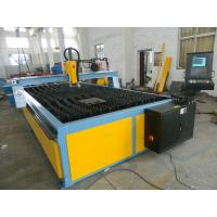 Wholesale CNC Oxy Double Drive Plasma Cutting Machine With One Plasma Gun Table Cutting from china suppliers