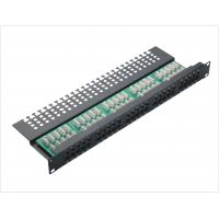 Wholesale Cat3 50 port Voice Home Network Patch Panel Krone Fibre Optic Patch Panels YH4004 from china suppliers