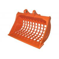 Wholesale 1 Cum Capacity Excavator Screening Bucket , Skeleton Sieve Buckets For Excavators from china suppliers