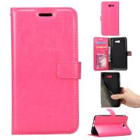Quality Wallet Stand Samsung J5 Leather Case , Dirt Proof Samsung J5 Flip Cover for sale