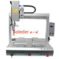 Buy cheap Desktop PCB Spot Soldering Machine Soldering Robot with Single Head and Dual Table from wholesalers