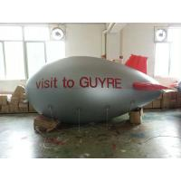 Wholesale Silver Color Inflatable Advertising Products Blimp / Air Plane Balloon from china suppliers
