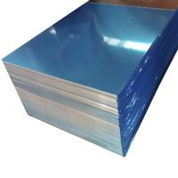 China Blue Color Coated Aluminum Sheet ,  0.1mm - 500mm Width Aluminum Flat Plate on sale