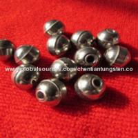 Buy cheap Tungsten ball with hole sinker beads from wholesalers
