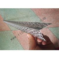 Buy cheap Grade 3003 Aluminium Angle Bead 2.4m Length 0.4mmThickness 32mm Wing from wholesalers