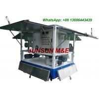 Wholesale Excellent Quality Double Axles Trailer Mounted Transformer Oil Filtration Plant from china suppliers