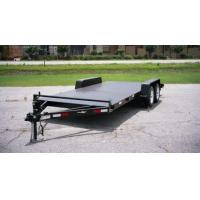 Wholesale 16 x 6'3 Tandem Car Carrier Trailer , Flat Top Car Trailer Manufacturers from china suppliers