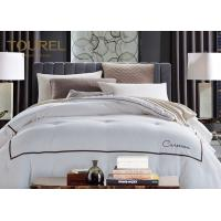 Wholesale Customized Hotel Quality Bed Linen King Size 330TC 100% Cotton Plain Satin Stripe from china suppliers