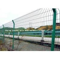 Quality Europe Style Wire Security Metal Fencing Panels For Agriculture / Construction for sale