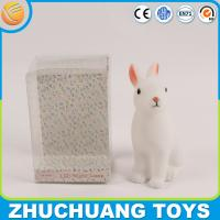 Wholesale LED light chear rabbit piggy banks with no hole from china suppliers