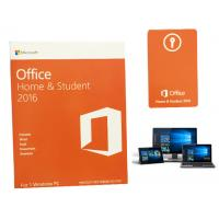 Quality Full Language PC Computer Software Retail Version Windows 10 Microsoft Office 2016 HS OEM 64 Bit for sale