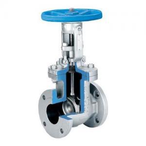 China cast steel flanged gate valve-italy gate valve on sale