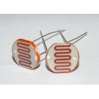 Wholesale 5mm CDS Photoconductive Cell / Photoresistor For Switch , Photocell Resistor from china suppliers