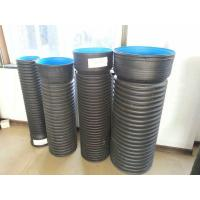 China High-Quality HDPE Double-wall Corrugated pipe machinery with belling modules on sale