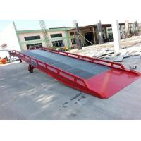 Wholesale 2000mm Width Mobile Loading Ramp 11050mm Total Length With 10 Ton Large Capacity from china suppliers