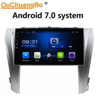 Wholesale Ouchuangbo car multimedia stereo radio for Toyota Camry 2014-2015 with USB SWC 1080P Video bluetooth android 7.0 system from china suppliers
