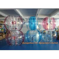 Wholesale Customized Double Inflatable Human Bubble Ball For Leisure Centre , Park from china suppliers