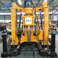 Quality XYX-3 Wheeled Rotary Soil Survey Machine Rock Water Well Drilling Rig 600 Meters for sale