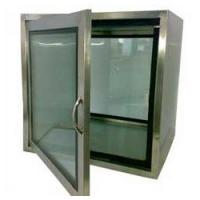 Standard mechanical interlocked pass box for clean room for sale