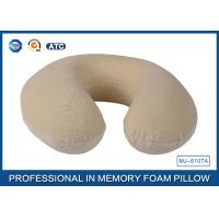 Wholesale Pillow for Sleeping U Shape Neck Support Travel Pillow Memory Foam Support Pillow from china suppliers