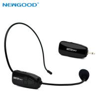 Wholesale NEWGOOD 2.4Ggz Wireless Microphone Speech Headset Megaphone Mic For Teaching Meeting Tour Guide from china suppliers