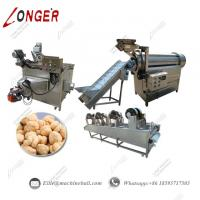 Wholesale Automatic Chickpeas Processing Line|Automatic Chickpeas Production Line|Automatic Continuous Fryer Production Line from china suppliers