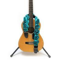 Wholesale Colorful Personalized Leather Guitar Straps , Customizable Guitar Straps For  Acoustic from china suppliers