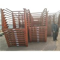 China Q235 Galvanized Steel Stackable Pallet Racks SX-SSR01 4 Tiers Shelving For Ginger for sale