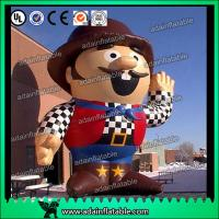 Wholesale Promotion Inflatable Cartoon Custom Inflatable Hackbuteer Cowboy from china suppliers