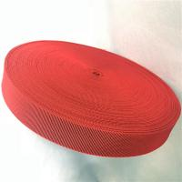Wholesale Outdoor Furniture Cover Type Elastic Upholstery Webbing in red color from china suppliers