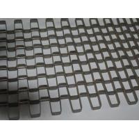 China Food Drying Stainless Steel Conveyor Chain Belt Silver High Temperature Resistant on sale