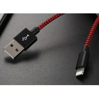 Buy cheap Nylon Braided 7 Pin Data Sync Cable , 3ft Micro USB 3.0 Cable For Samsung from wholesalers